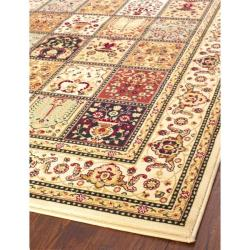 Safavieh Majesty Extra Fine Panel Multi/ Cream Rug (7'9 x 9'9) - Thumbnail 1