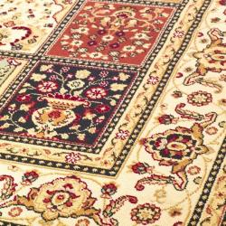 Safavieh Majesty Extra Fine Panel Multi/ Cream Rug (7'9 x 9'9) - Thumbnail 2