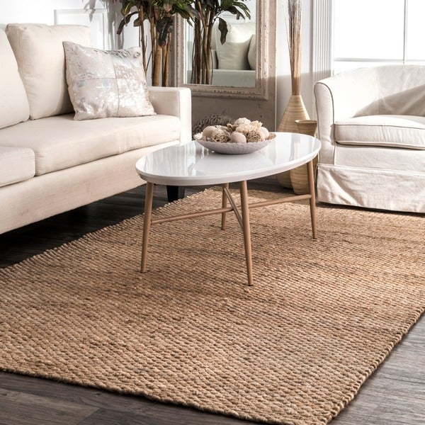 The Gray Barn Mayan Natural Jute Area Rug - 8' x 10'