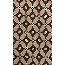 nuLOOM Hand-knotted Napalese New Zealand Wool Rug (5' x 8')