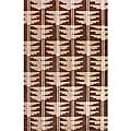 "Hand-Knotted Luna Nepalese Brown/Beige New Zealand Wool Rug - 7'6"" x 9'6"""