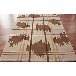 nuLOOM Hand-knotted Napalese New Zealand Wool Rug (7'6 x 9'6) - Thumbnail 1