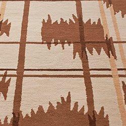 nuLOOM Hand-knotted Napalese New Zealand Wool Rug (7'6 x 9'6) - Thumbnail 2