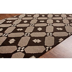 nuLOOM Hand-knotted Napalese New Zealand Wool Area Rug (7'6 x 9'6) - Thumbnail 1