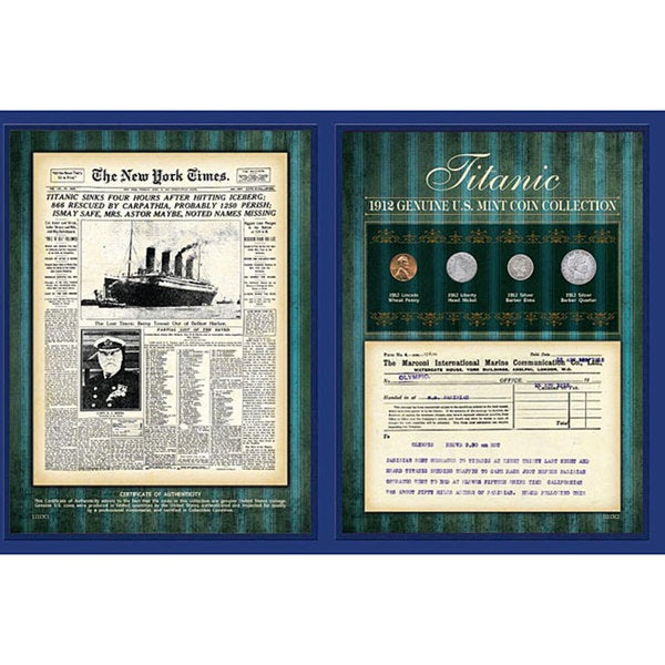 American Coin Treasures Titanic Collection