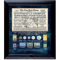 American Coin Treasures Pearl Harbor 70th Anniversary Coin and Stamp Collection