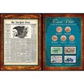 American Coin Treasures Civil War Coin, Stamp, NYT Front Page Collection