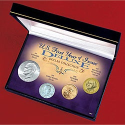 American Coin Treasures U.S. First Year of Issue Deluxe Dollar Collection - Thumbnail 0