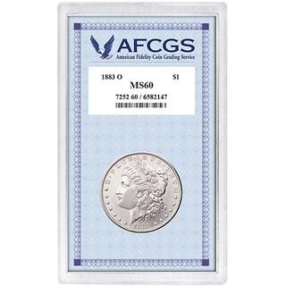 American Coin Treasures 1883-O Morgan Dollar