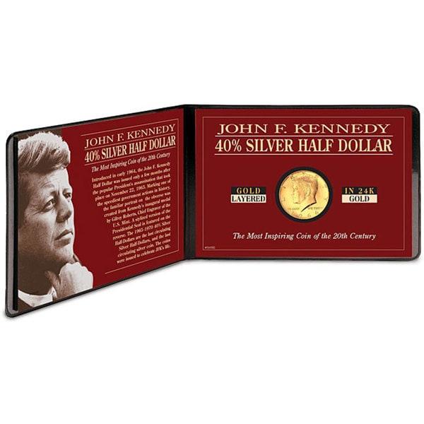 American Coin Treasures Silver JFK Half Dollar Coin