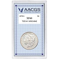 American Coin Treasures 1878's Morgan Silver Dollar