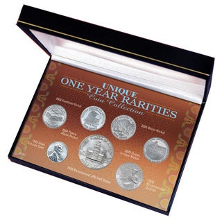 American Coin Treasures Unique One-Year Rarities Coin Set