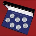 American Coin Treasures Complete Seven-piece Eisenhower Dollar Collection with Collector Case