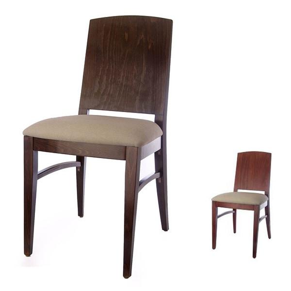 Condor Walnut/ Mahagony Side Chairs (Set of 2)