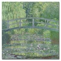 Claude Monet 'The Waterlily Pond, 1899' Gallery-wrapped Canvas Art