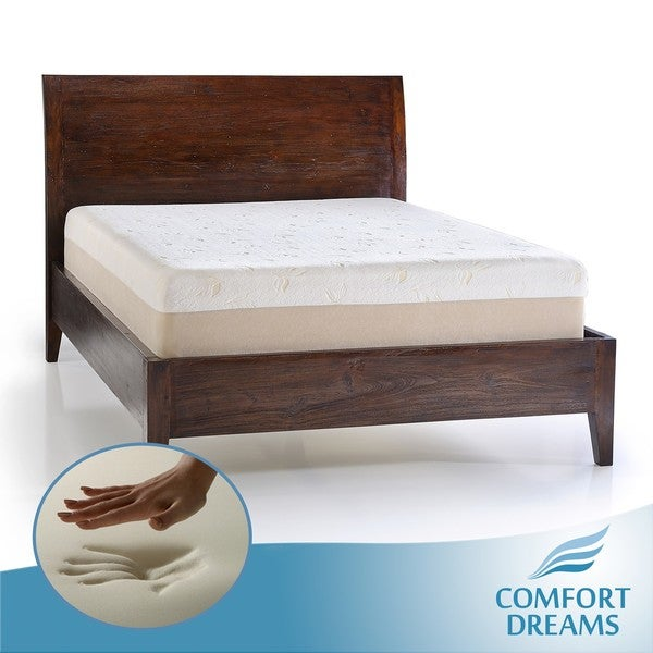 Comfort Dreams Dual Comfort 14-inch King-size Memory Foam Mattress