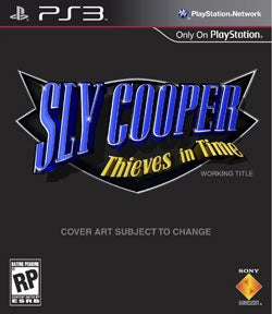 PS3 - Sly Cooper Thieves In Time