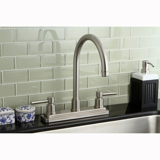Claremont Satin Nickel 8-inch Kitchen Faucet