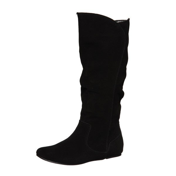 Sam & Libby Women's 'Profess' Black Slouch Boots