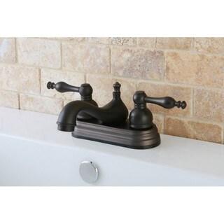 Oil Rubbed Bronze 4-inch Centerset Bathroom Faucet