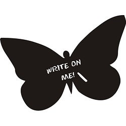Vinyl Attraction 'Butterfly Chalkboard' Vinyl Decal