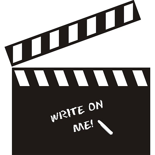 Vinyl Attraction Directors Movie Clapboard Dark Grey