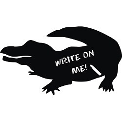 Vinyl Attraction 'Alligator Chalkboard' Vinyl Decal