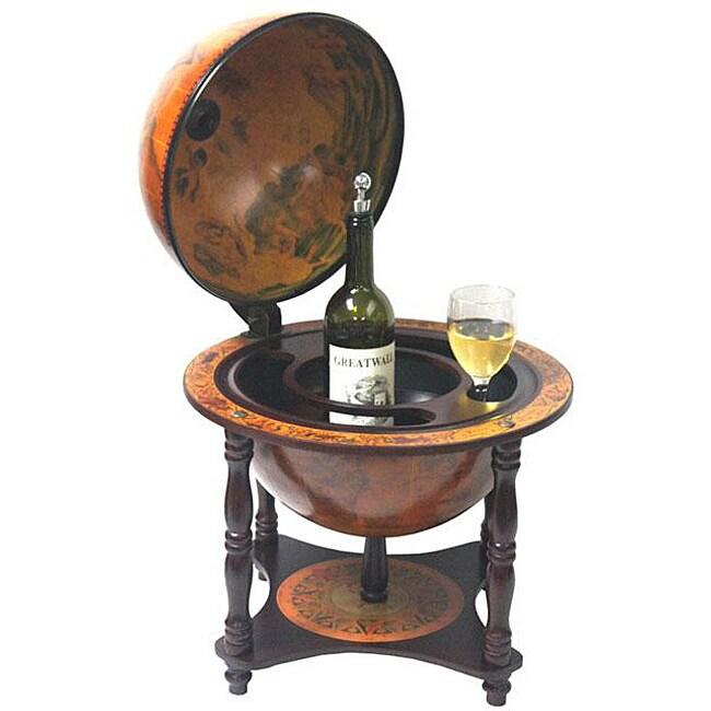 Merske 13 inch italian replica globe bar free shipping for 16 inch floor old world bar globe cart