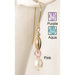 Pearl 'Sweet Mya Valentine' 14k Gold Fill Earrings (Pack of 6 Pairs)