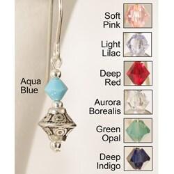 Sterling 'Tehya' Crystal Earrings (Pack of 7 Pairs)