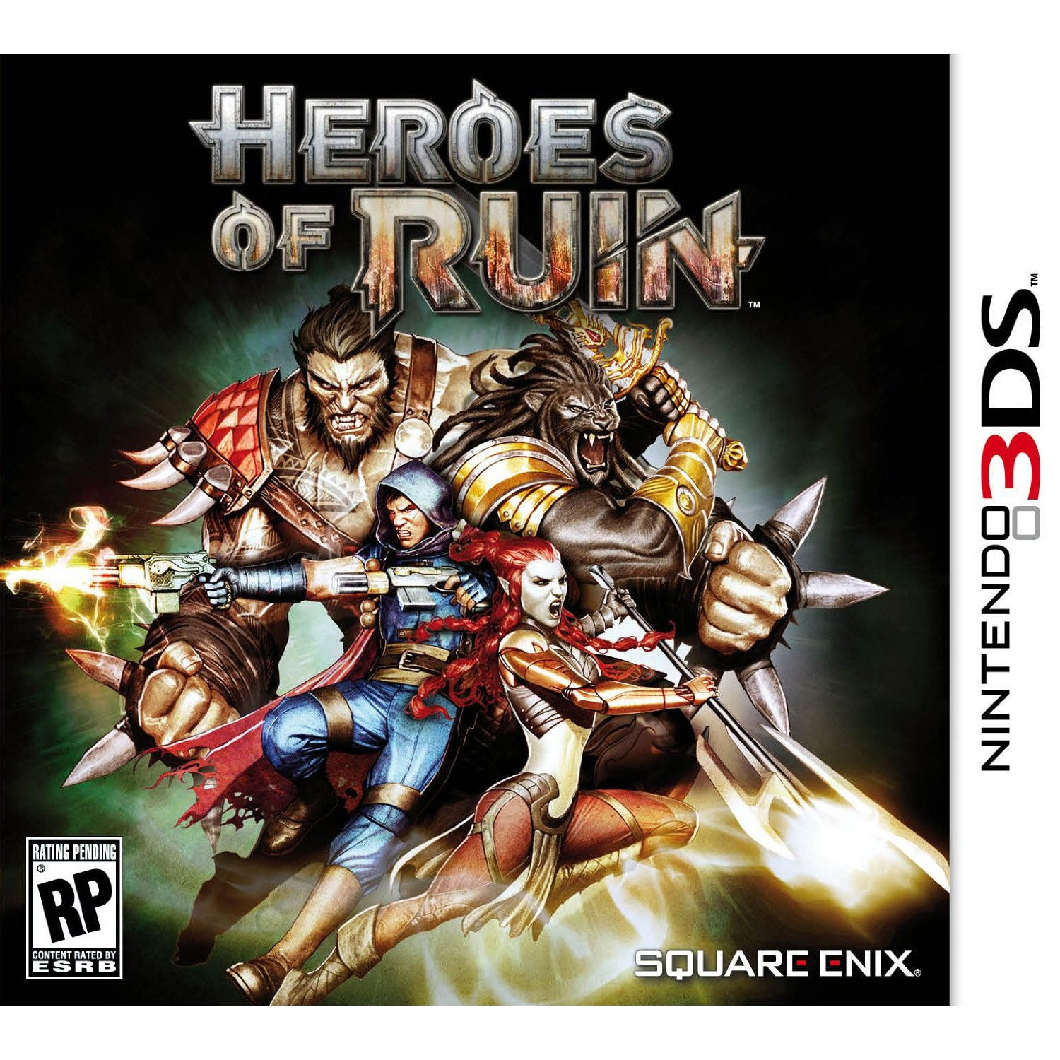 NinDS 3DS - Heroes of Ruin - By Square Enix