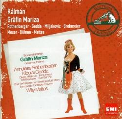 WILLY MATTES - ELECTROLA SERIES-KALMAN: COUNTESS MARIZA