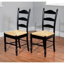 Simple Living 3-Piece Ladderback Dining Set