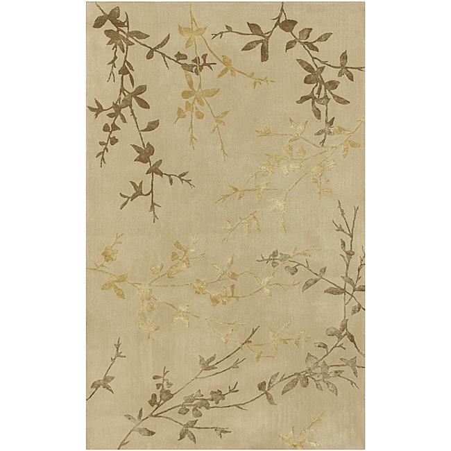 9 X 12 Nourison Nourmak Hand Knotted 100 Wool Persian: Hand-tufted Virginia Wool Rug (8' X 11')