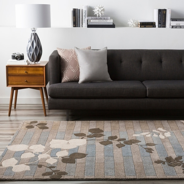 Hand-tufted Newport Wool Area Rug - 8' x 11'