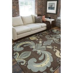 Hand-tufted Biloxi Wool Rug (8' x 11')