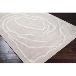 Hand-tufted Louisville Wool Rug (8' x 11') - Thumbnail 1