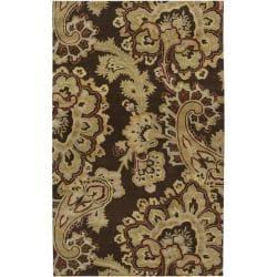 Hand-tufted Bangor Wool Area Rug (5' x 8') - Thumbnail 0