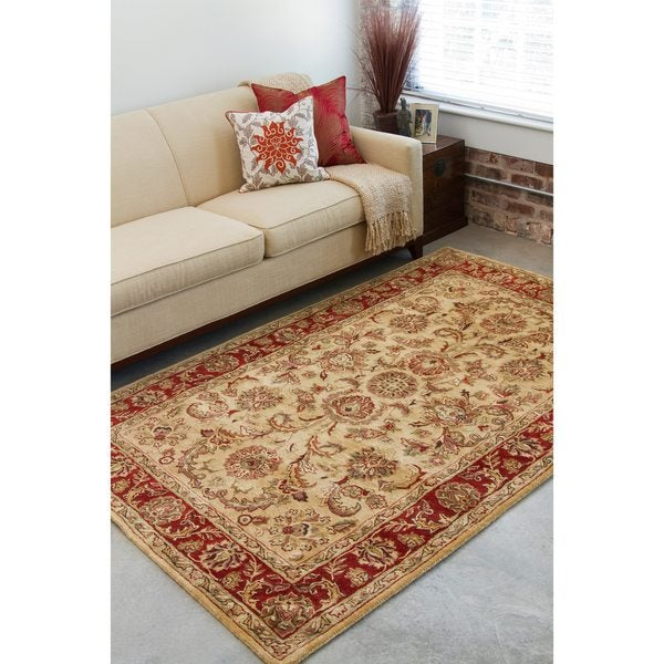 Hand-tufted Philly Wool Area Rug (8' x 11')