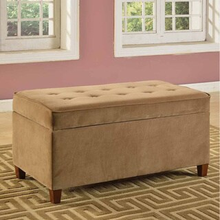 Perfect Suede Ottomans & Storage Ottomans at Overstock AX87