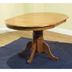 Simple Living Oak Finish 7-piece Ladderback Dining Set