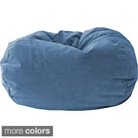 Gold Medal Kid's Corduroy Suede Bean Bag Chair