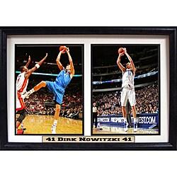 Dallas Mavericks Dirk Nowitzki Double Photo Frame