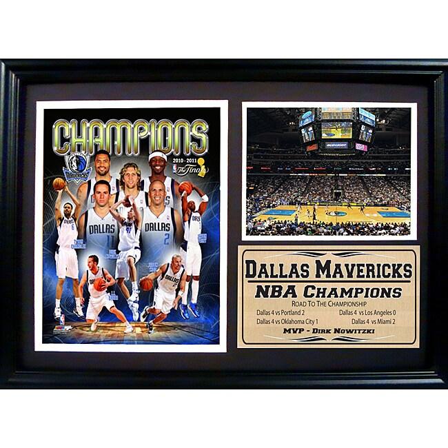 Dallas Mavericks 2011 NBA Champions Frame