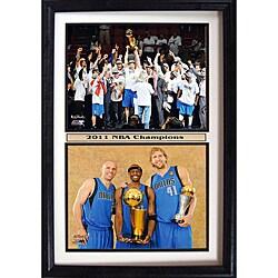 Dallas Mavericks 2011 NBA Champions Collectible Frame