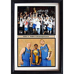 Dallas Mavericks 2011 NBA Champions Collectible Frame