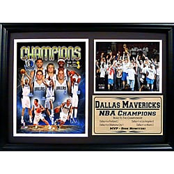 NBA Commemorative Dallas Mavericks 2011 NBA Champions Photo Plaque