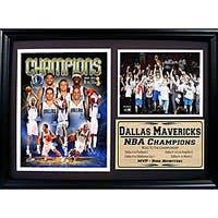 NBA Commemorative Dallas Mavericks 2011 NBA Champions Photo Plaque