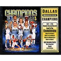 2011 NBA Champions Dallas Mavericks Plaque