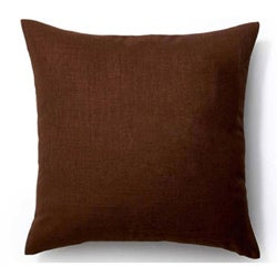 Chocolate/ Vanilla Rebel 20x20-inch Square Outdoor Pillow - Thumbnail 1